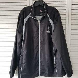 NWOT Raiders Reebok NFL rain jacket size XL
